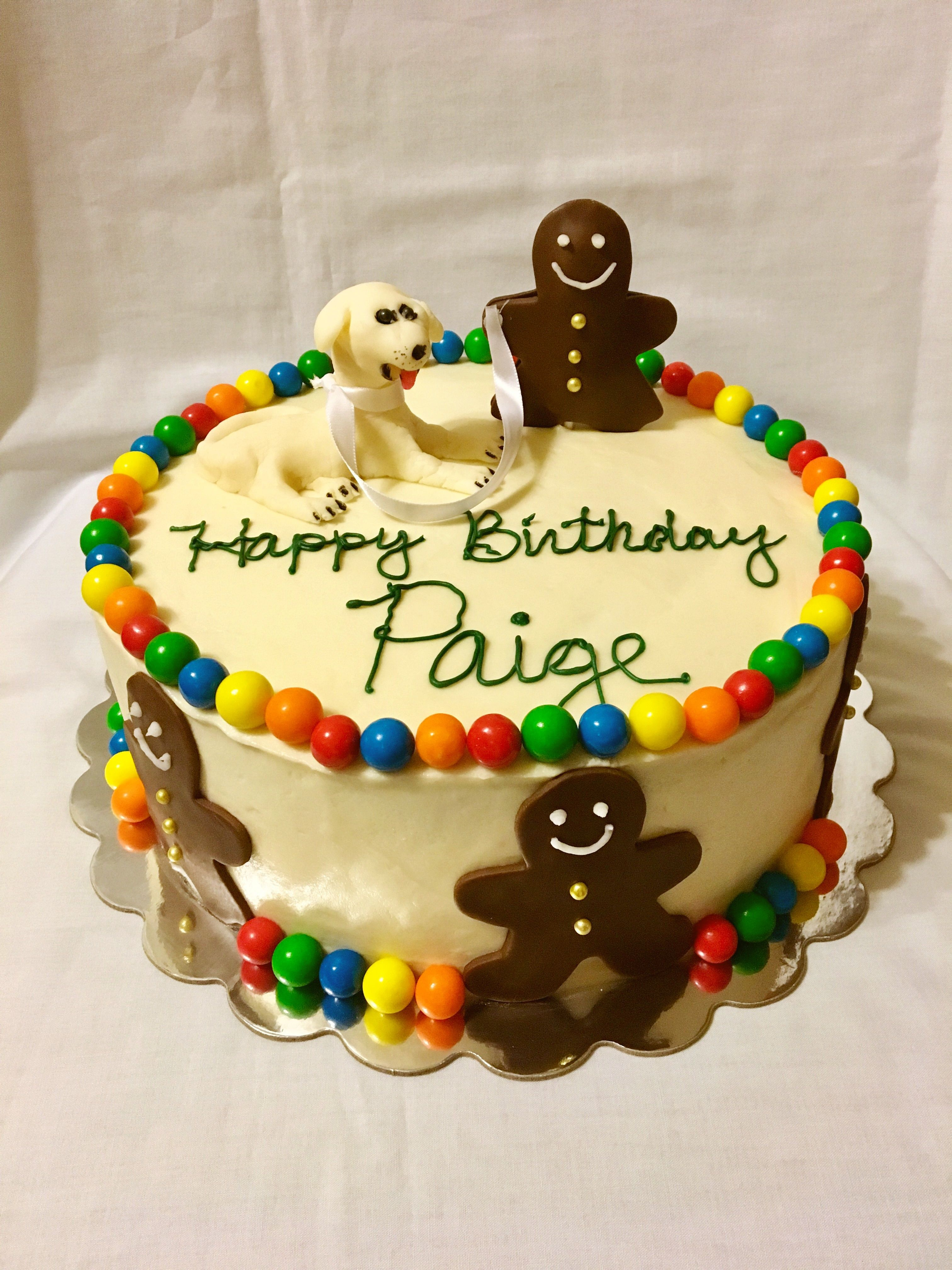 Gingerbread birthday cake Carrot cake with cream cheese frosting
