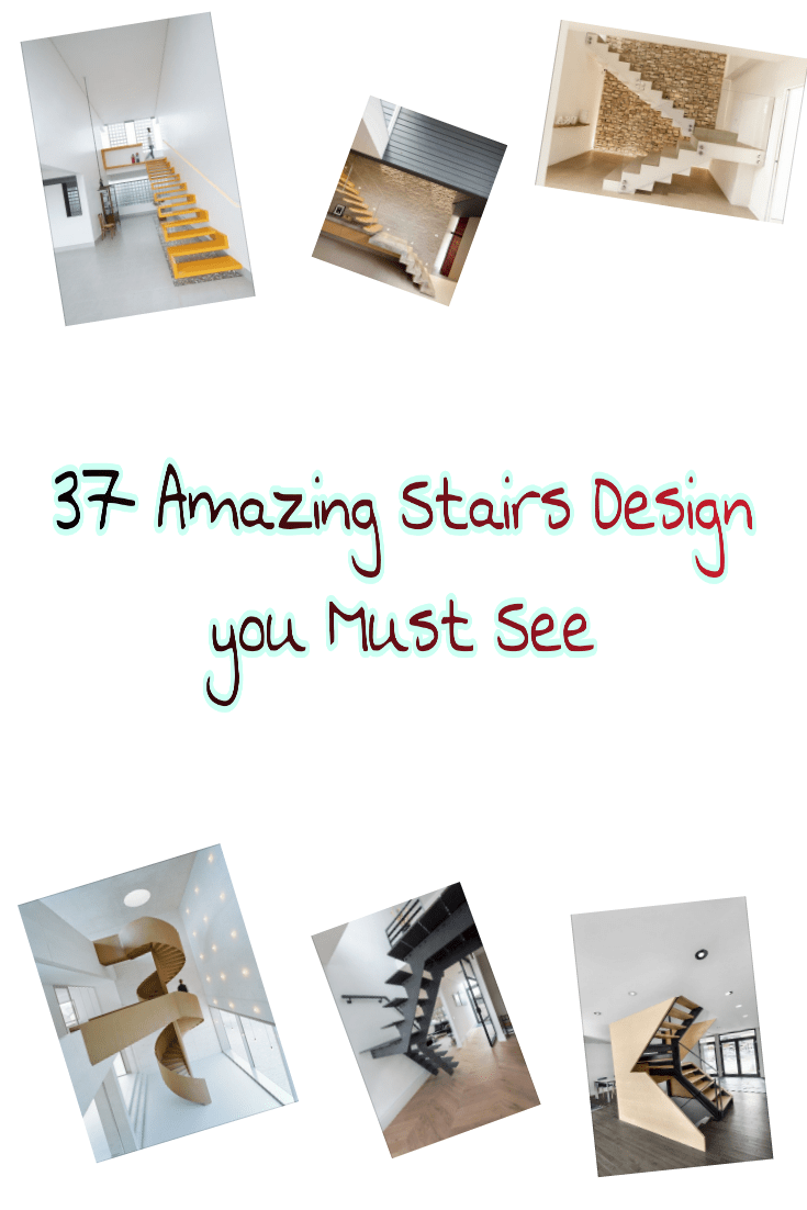 I previously discussed different types of stairs used in