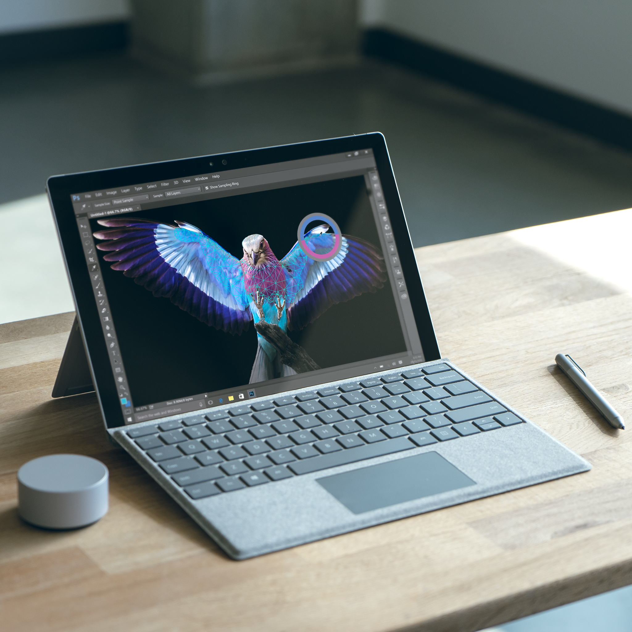 Soar to new creative heights on the computer designed with