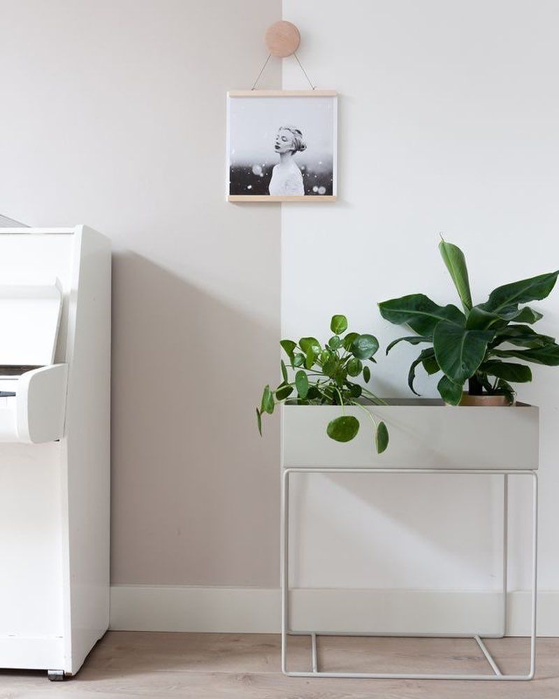 """Photo of Interior & Scandinavian Homes on Instagram: """"Love the beautiful living room of @styleandsugar ?? Ferm Living Plant Box in light grey available in our online store ? . #livingroom…"""""""