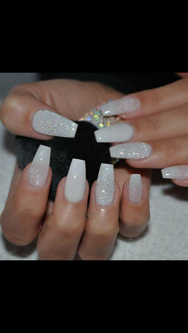 Pin By Seleste Arevalo On Cute Nails Classic Nails Bride Nails Formal Nails