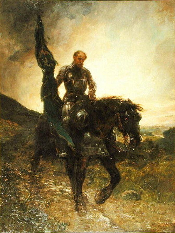 'After Flodden, 1513', William Brassey Hole