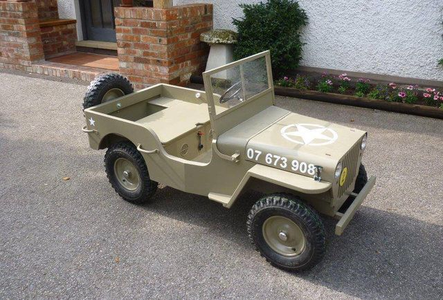 Build A Mini Jeep Vintage Plans Free Mystery Gift Included