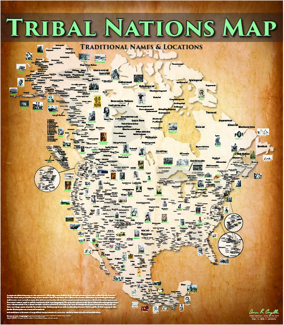 aaron-carapella-tribal-nations-map | All is One | Native American ...
