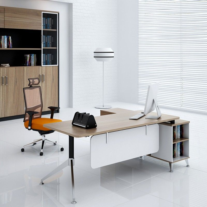 Simple Office Furniture Made In China Melamine Board Modern Design L Type  Office Table   Buy L Type Office Table,Modern Design Office Table,Office  Furniture ...