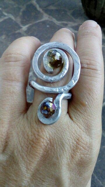 Anello in alluminio