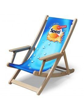 Spezi Liegestuhl Relax Liegestuhl Werbegeschenke