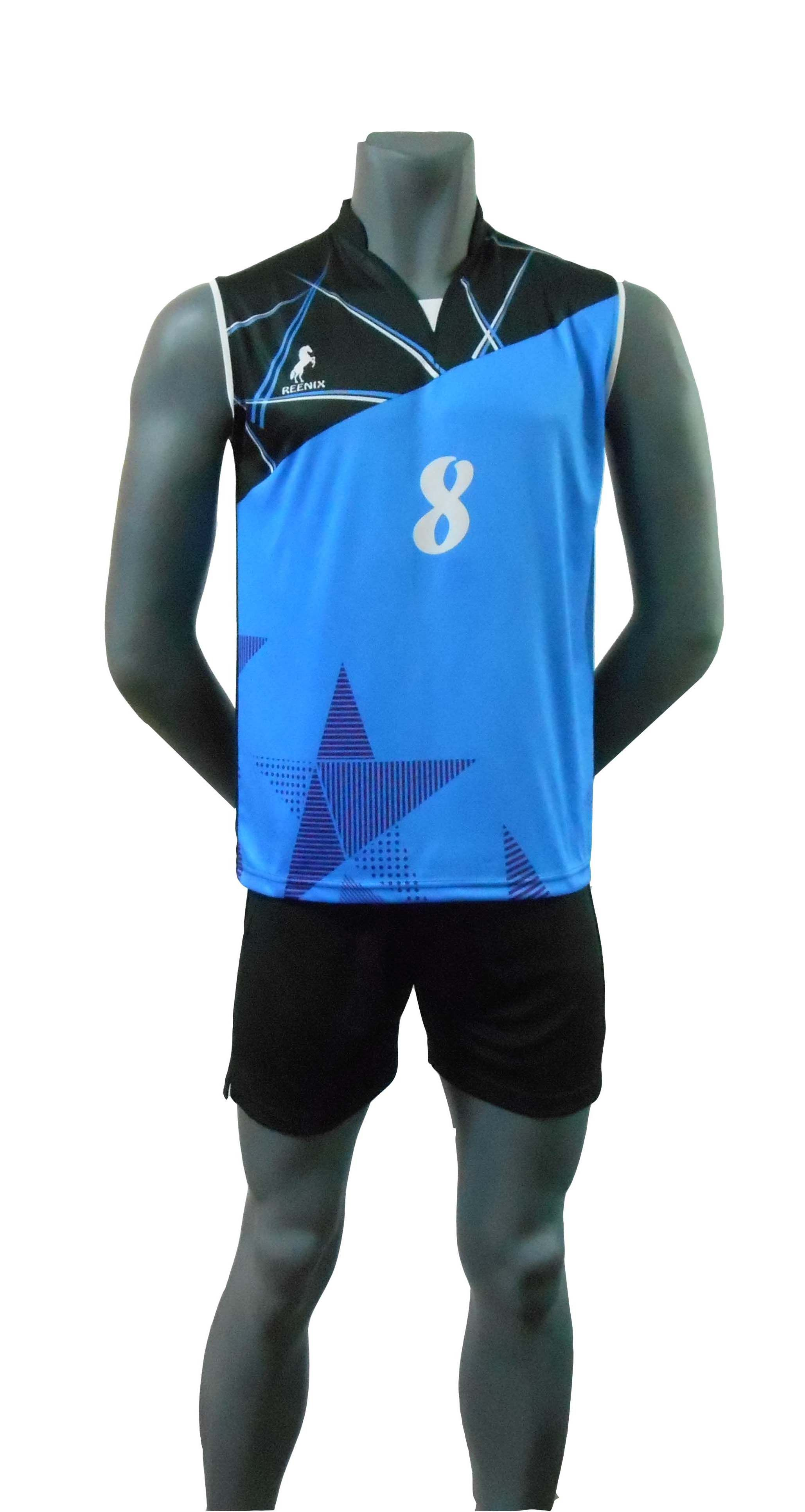 Sublimation Printed Volleyball Playing Kit Sport Volleyball Volleyball Jerseys Volleyball