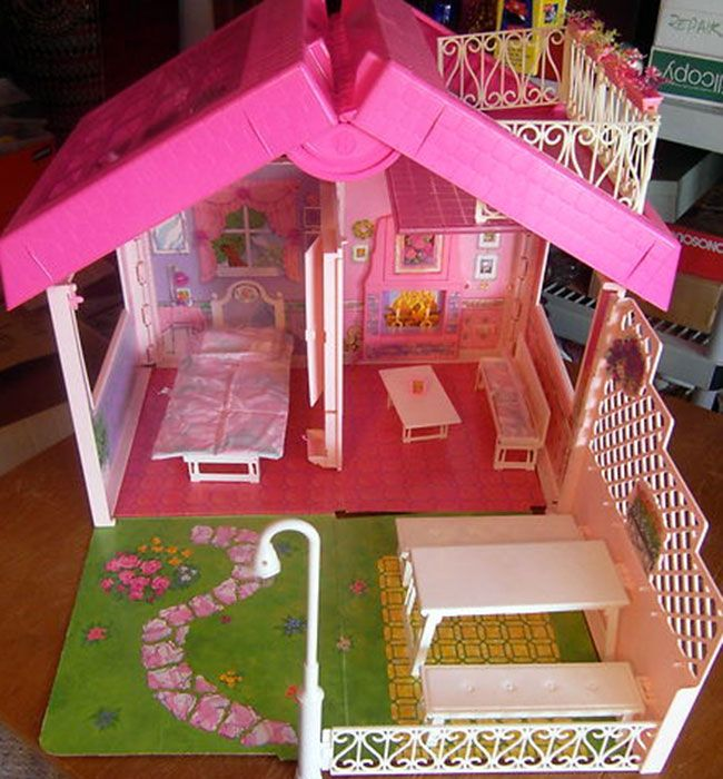 Barbie Fold N Fun House My Childhood Pinterest Fun