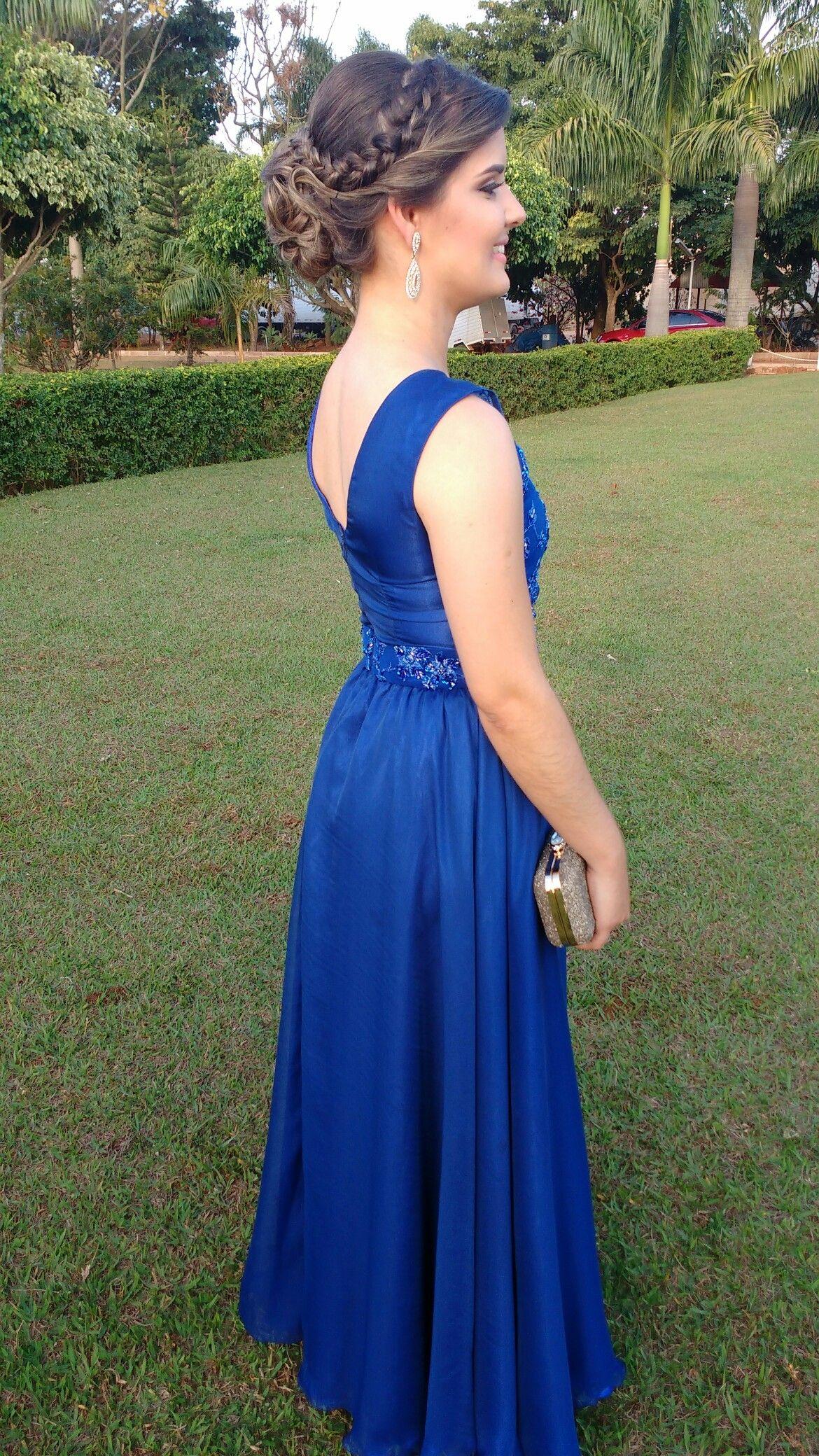 Coque Madrinha En 2019 Vestidos Azul Rey Largos Vestidos