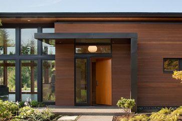 exterior modern overhangs | Overhangs For Entrance Doors http://www ...