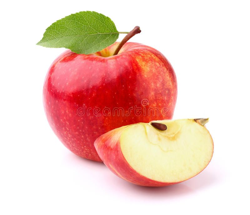 Apple With Slice On A White Background Spon Slice Apple Background White Ad Apple Apples Photography Apple Slice Image