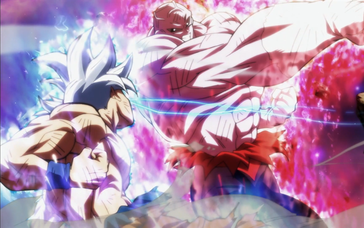 Goku Vs Jiren 4k Battle Dragon Ball Ultra Instinct Goku Migatte No Gokui Mastered Ultra Instinct Anime Dragon Ball Super Goku Vs Jiren Dragon Ball Super
