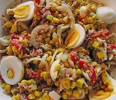 Mais Thunfisch Salat