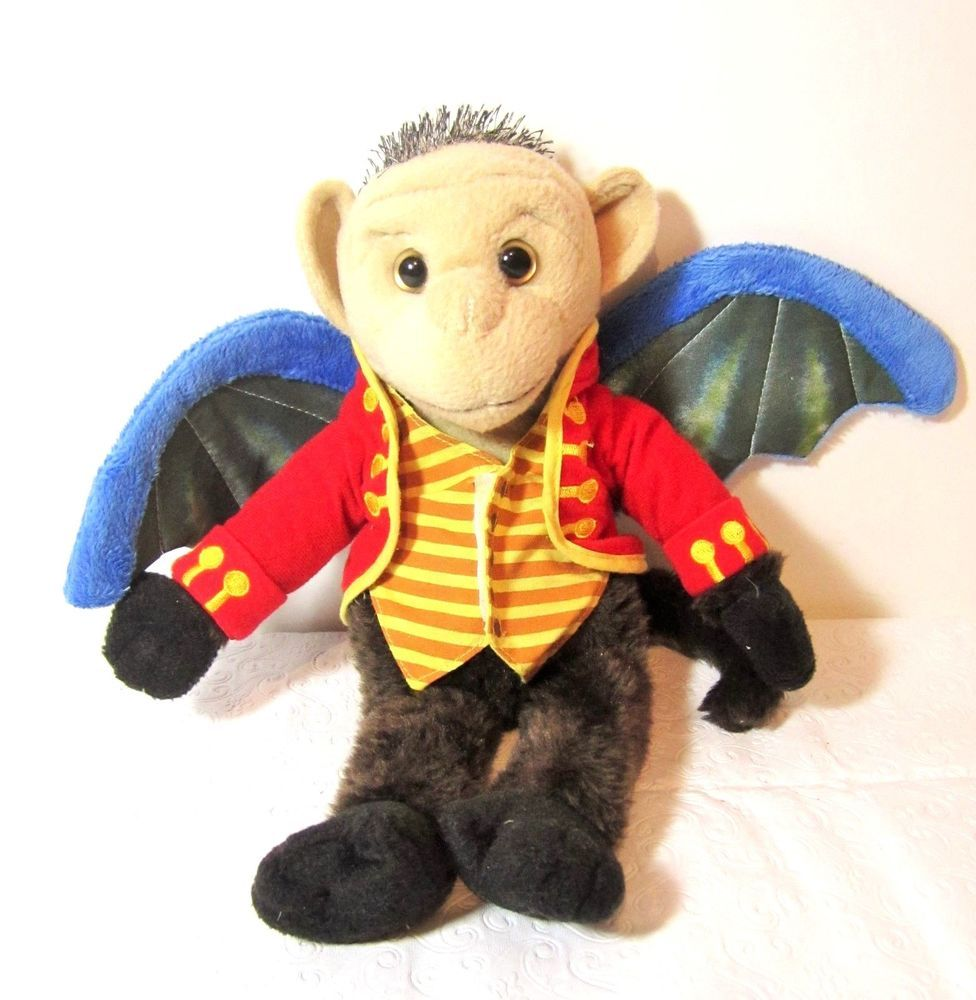 Wicked Musical Broadway Flying Monkey Plush Chistery Wizard Of Oz ...