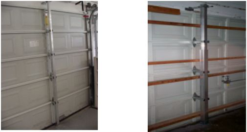 Garage Door Braces Hurricane Wind Resistant Garage Doors In