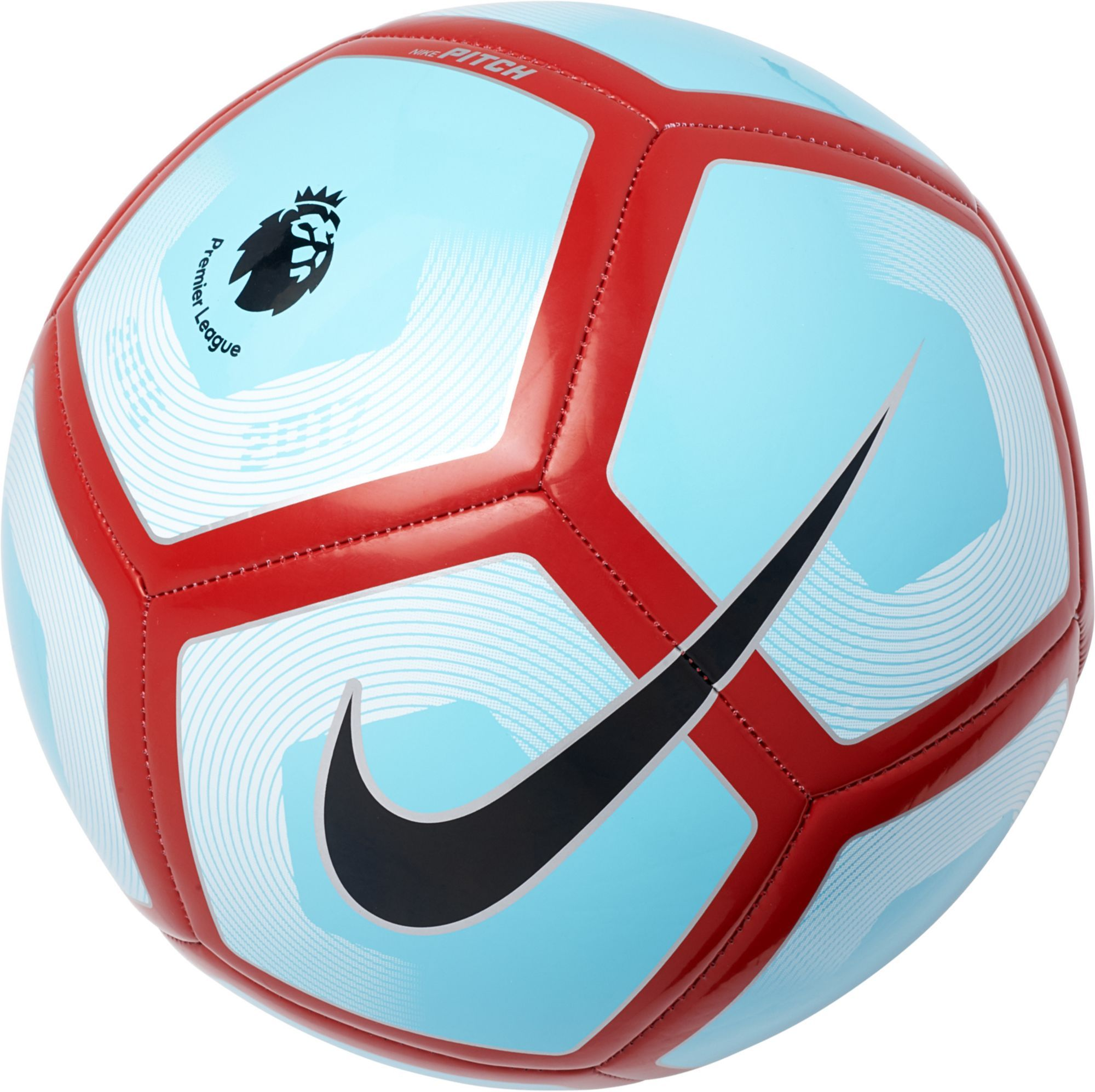 Nike Premier League Pitch Soccer Ball Blue Soccer Premier League Soccer Ball