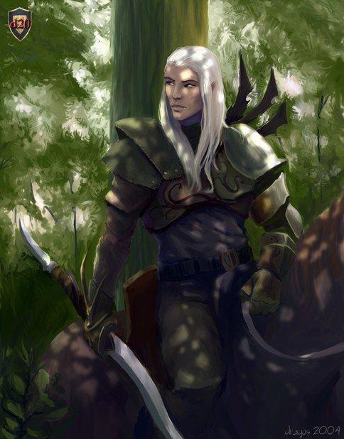 Fantasy male portraits | ... Dnd Archetypes: Half Elf Male., Dragos Stanculescu, SciFi Fantasy Art