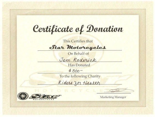 Image Result For Donation Certificate Donation Holiday Gift