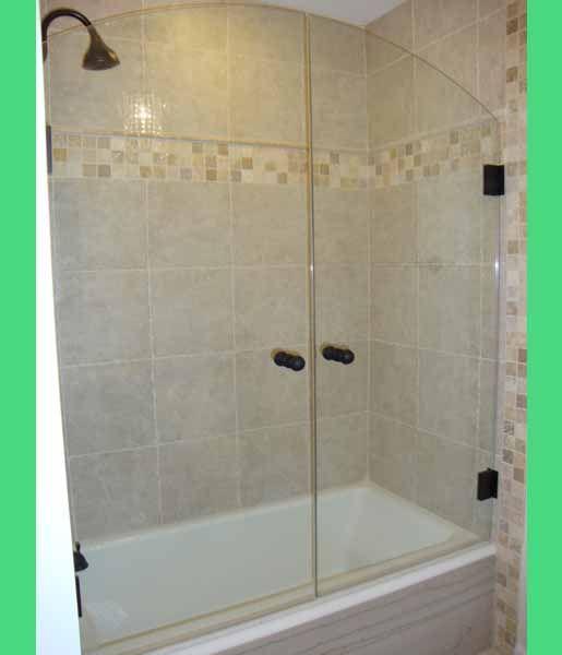 glass tub shower doors home depot
