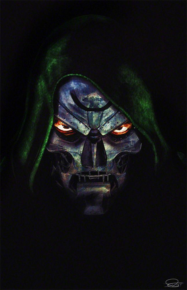 Dr Doom Marvel Comics Arte De Comics Marvel