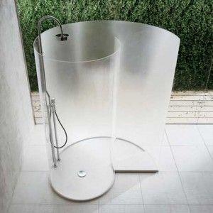 SchneckeDusche Duschabtrennung, Walk in dusche und