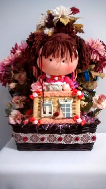 Handmade young girl gift basket ebay sale and ebay 40 ebay sale handmade young girl easter gift basket handmade negle Images