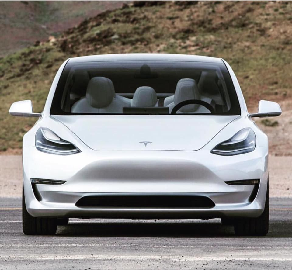 Facebook Tesla Tesla Elektroauto Vorfreude
