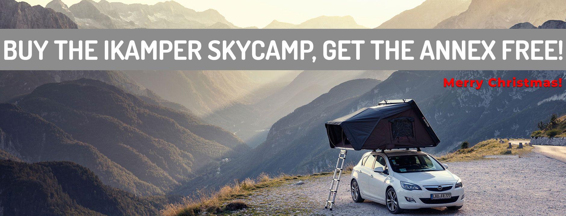 iKamper Skycamp Roof Top Tent Top tents, Roof top tent, Tent