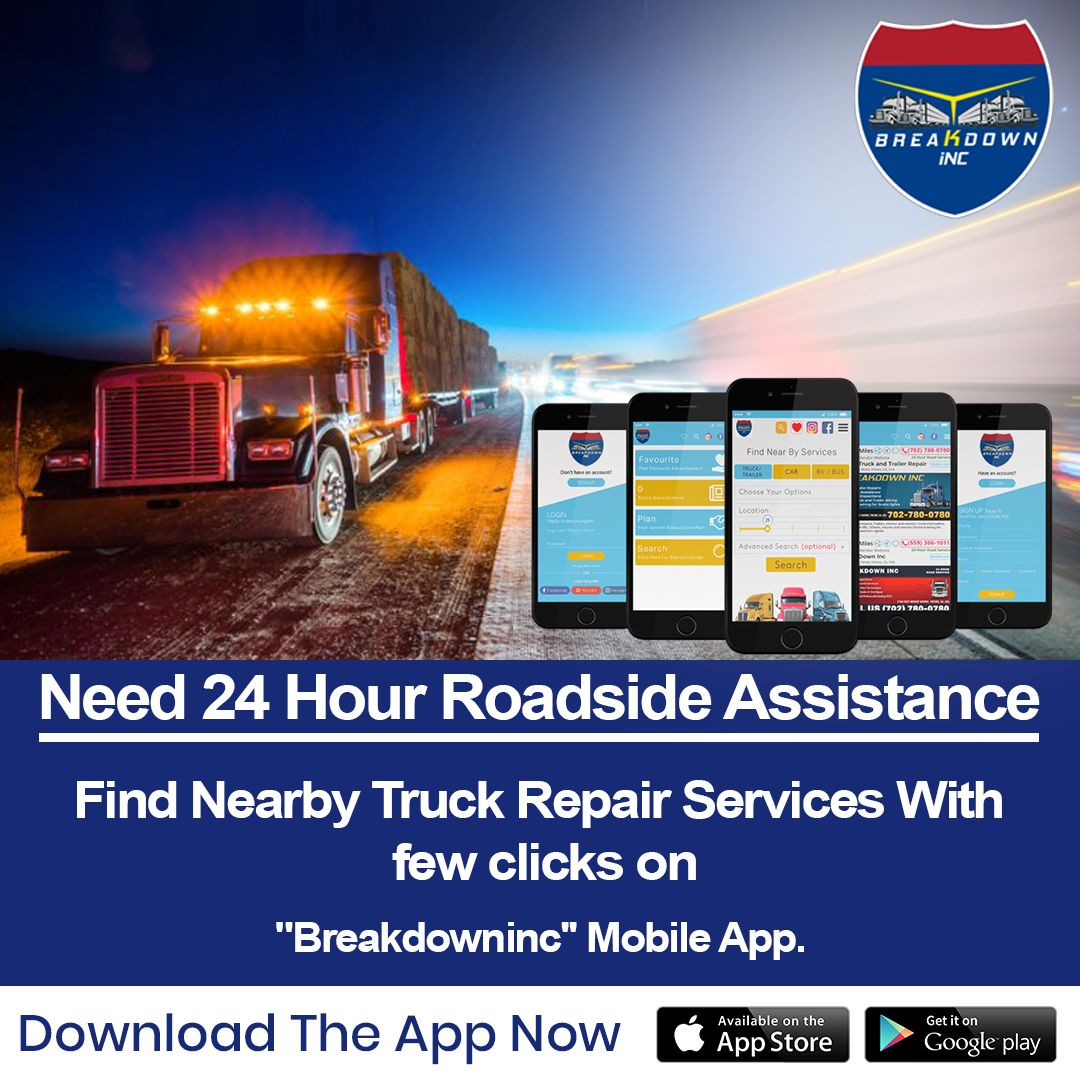 Get 24/7 Roadside Assistance. Download the App Now and