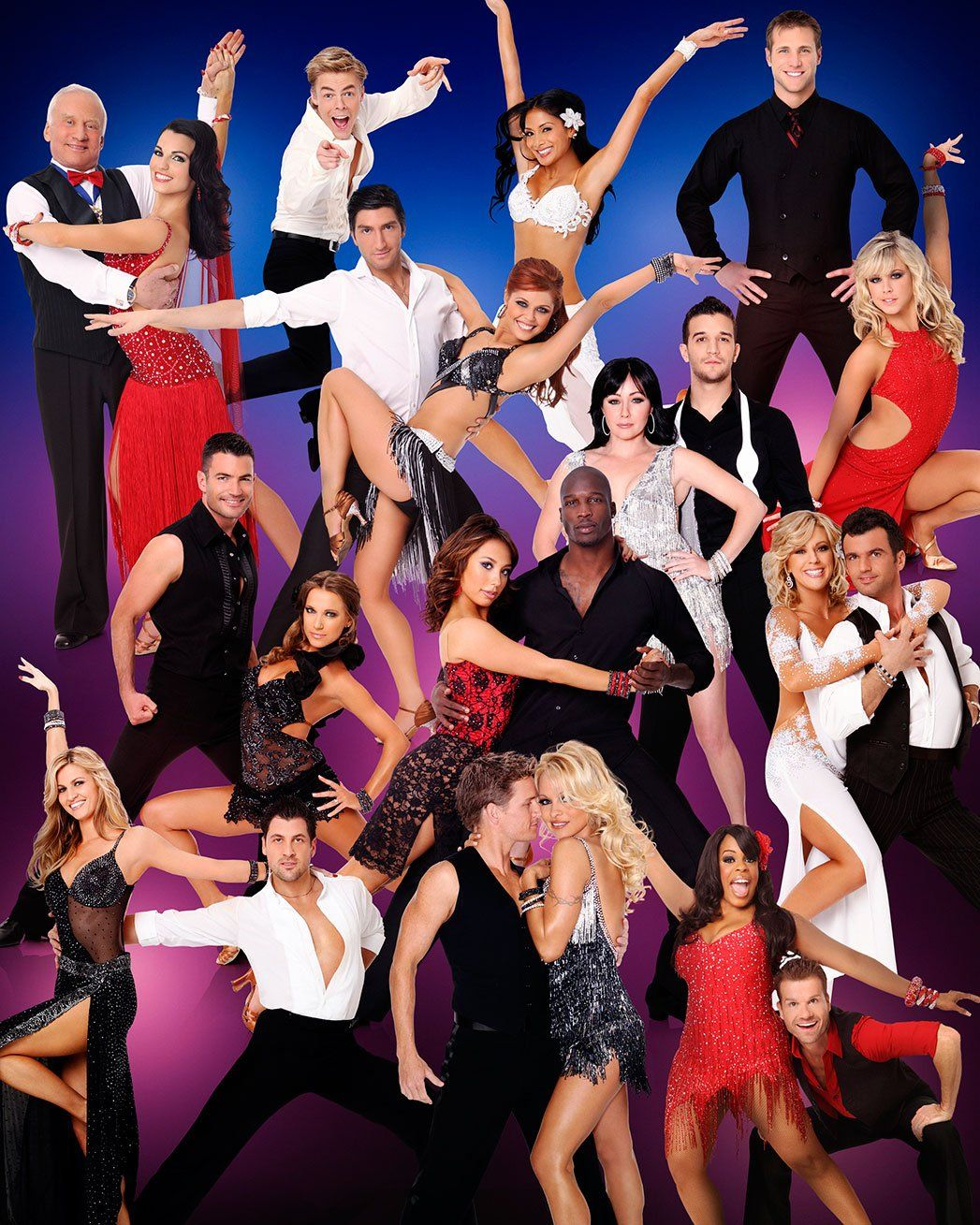 Dancing With The Stars A Look Back At Each Season S Cast Photos Dancing With The Stars Mark Ballas Tom Bergeron