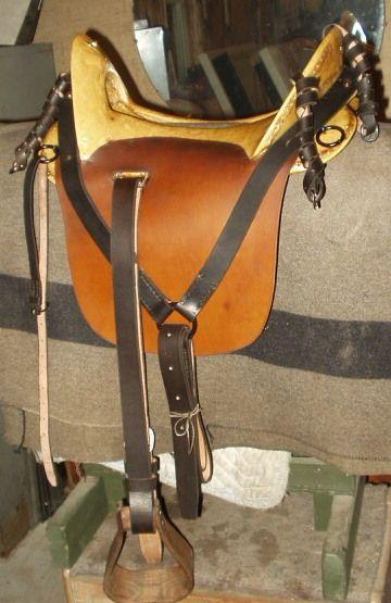 Saddles Confederate McClellan   Real Horse Tack/Equipment ...