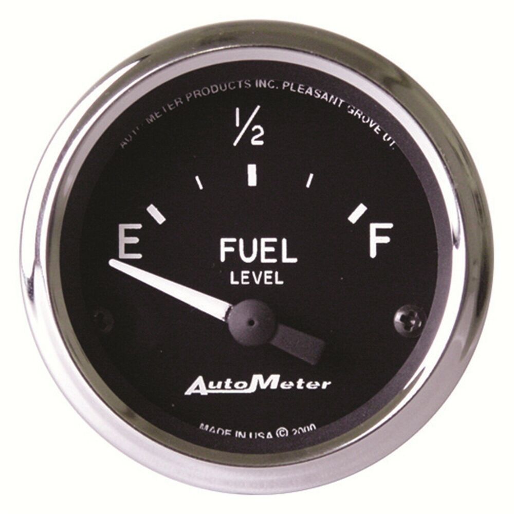 Sponsored Ebay Autometer 201011 Cobra Electric Fuel Level Gauge Gauges Electricity Fuel Pressure Gauge