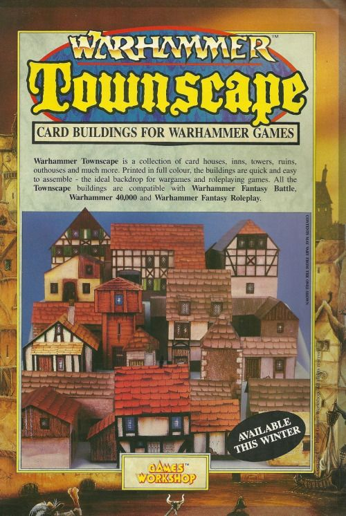 "Warhammer Townscape, 1988  (""Available"" on the 'tubes as PDFs  So"