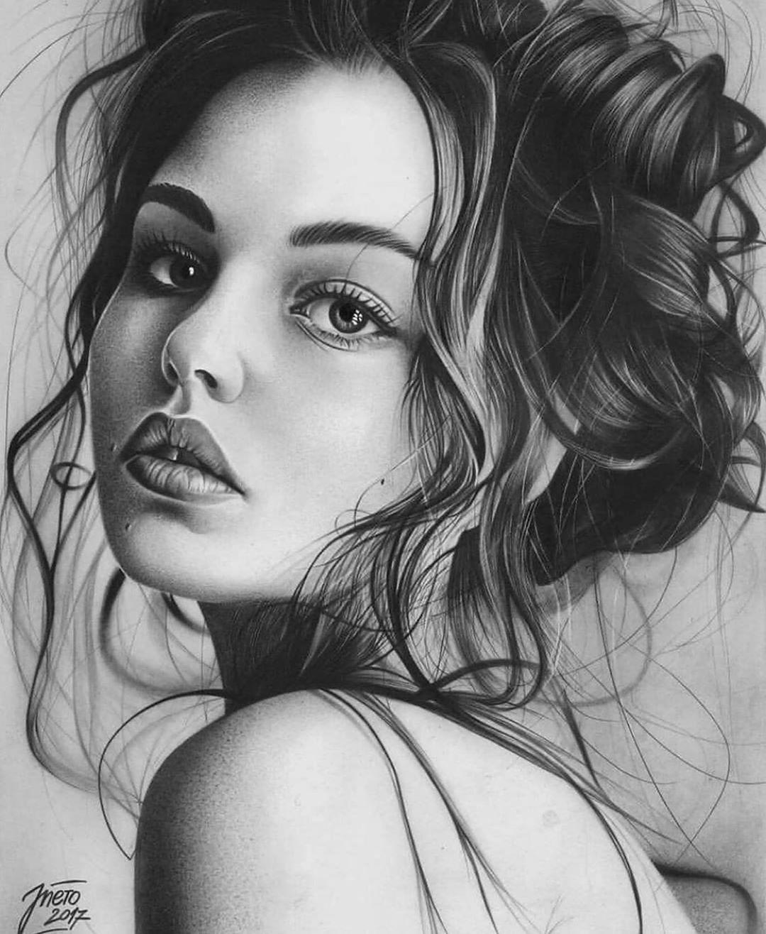 Amazing Drawing Artis Realistic Pencil Drawings Pencil Portrait Pencil Art Drawings