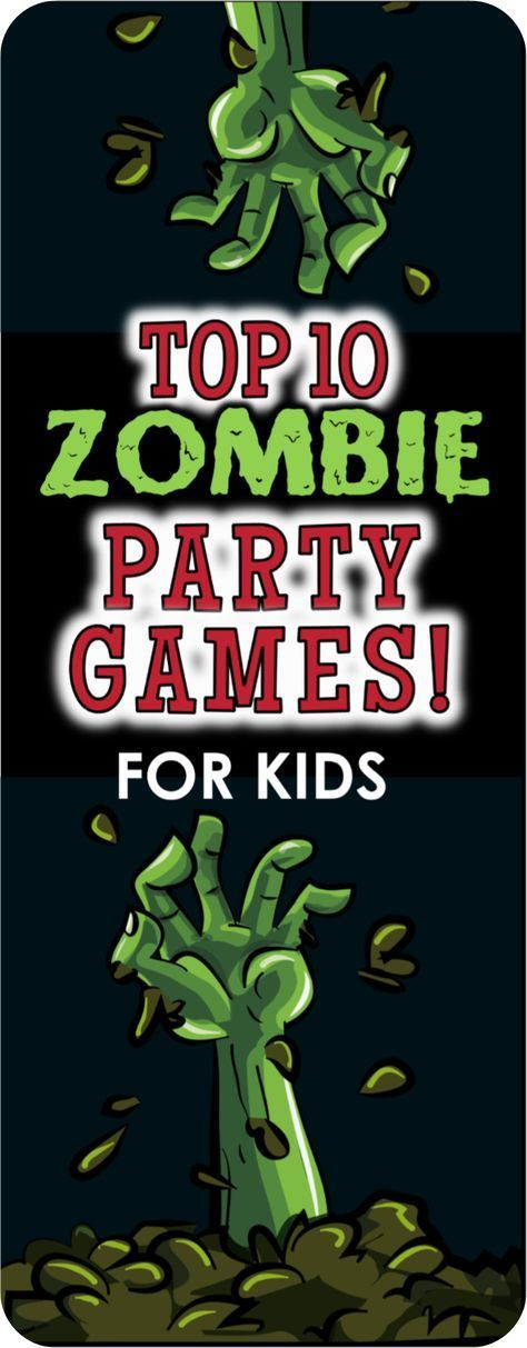 Put together your own Zombie Apocalypse Party with these fun ideas and games. #zombieapocalypseparty
