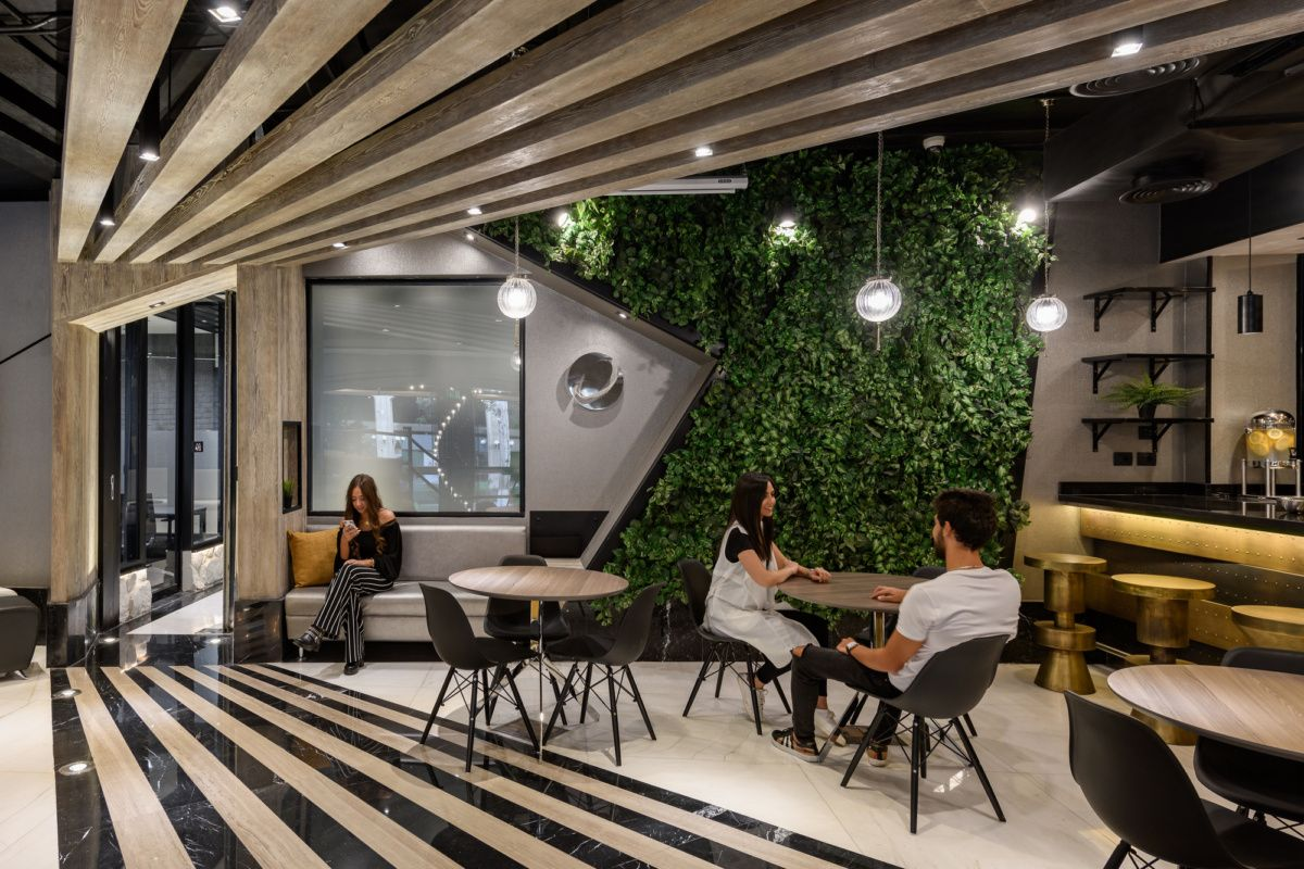 Office Tour Trend Micro Offices Cairo Commercial Interior