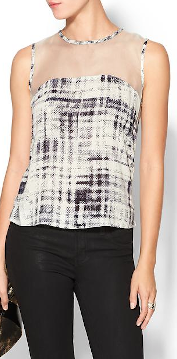 pretty sheer sleeveless tank http://rstyle.me/~40jVt