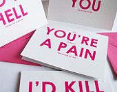 Read the small print...funny Valentines cards