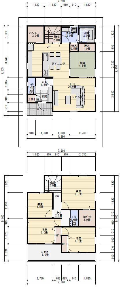 35坪5ldk畳コーナーのある間取り 理想の間取り 間取り 32坪