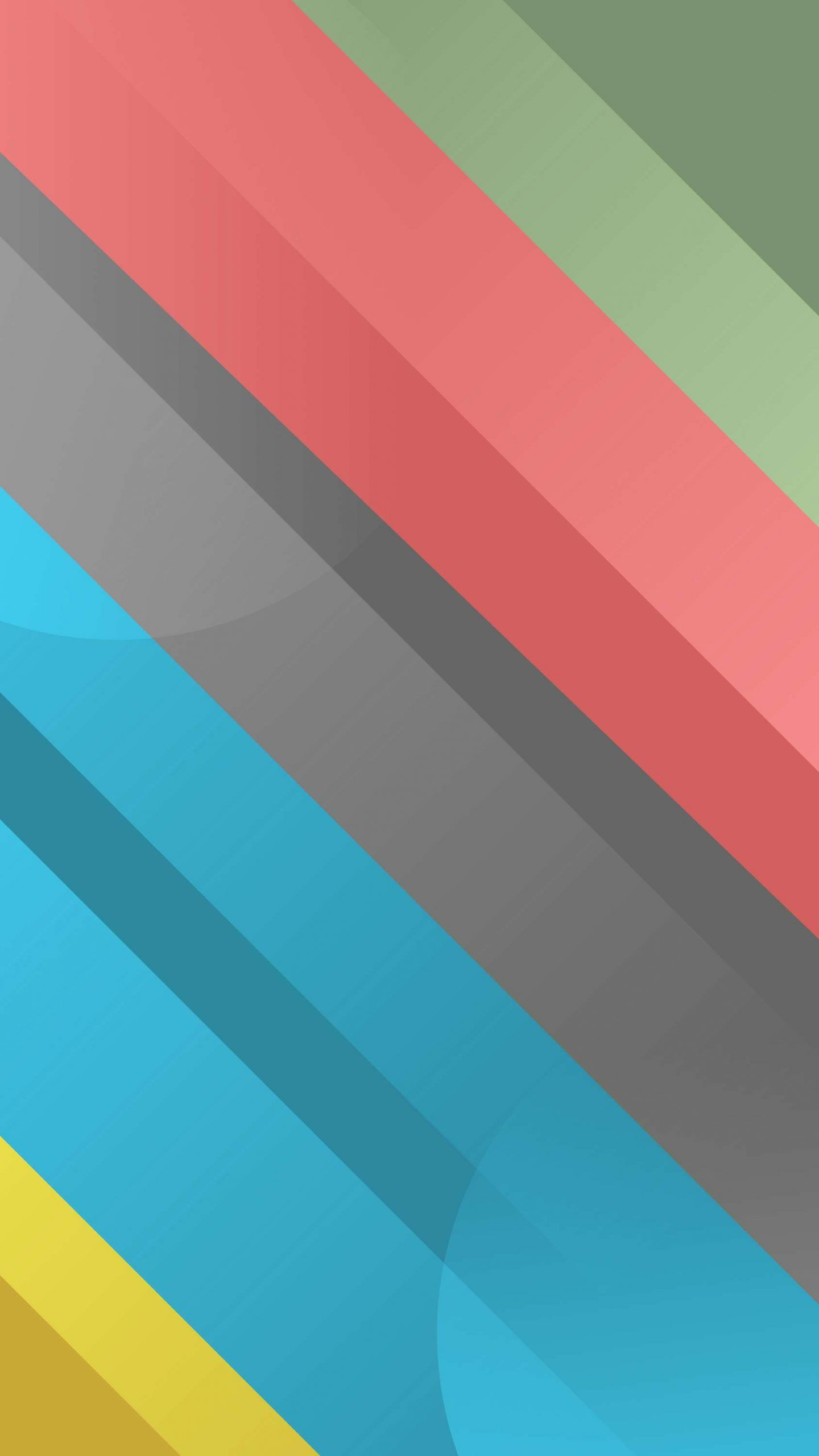 Minimal Color Lines iPhone Wallpaper