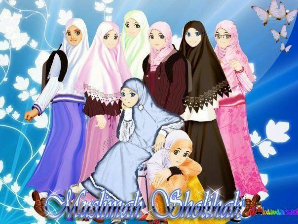 Anime Hijab Sahabat - Anime Hijab