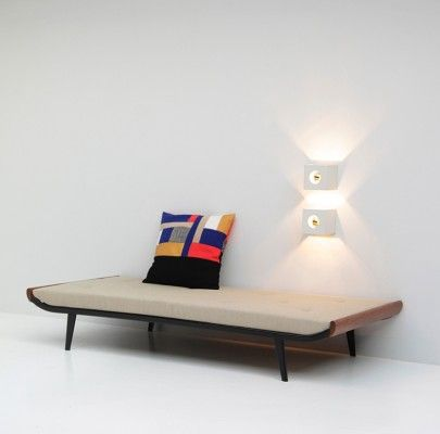 Beige Cleopatra Daybed by Dick Cordemeijer for Auping, 1950s - Furniture - Products