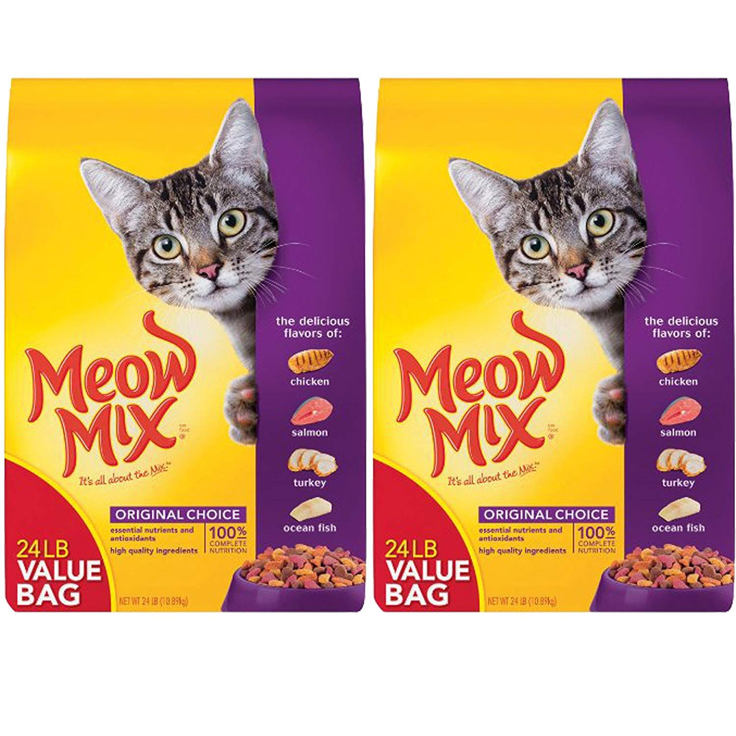 Meow Mix Original Extra Large 24 Pound Bag 2 Pack Click On The Image For Additional Details This Is An Affiliate Link In 2020 Diy Cat Food Cat Food Cat Diet