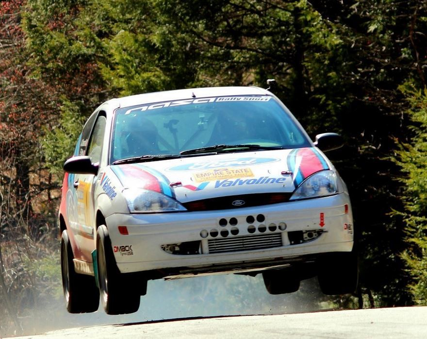 Podium Regular 2001 Ford Focus Zx3 Turbo Rally With Dogbox Ford