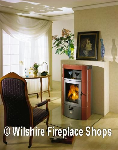 Wilshire Fireplace Shop Offering Modern Design Wood Burning Stove