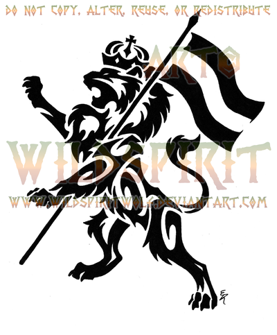 Rampant Lion Of Judah Tattoo By Wildspiritwolf Try Some Of These