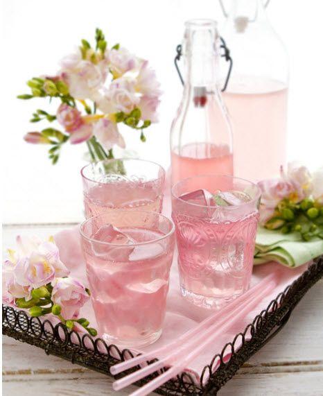 pink lemonaid tray