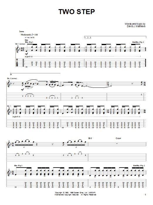 Dave Matthews Band Two Step