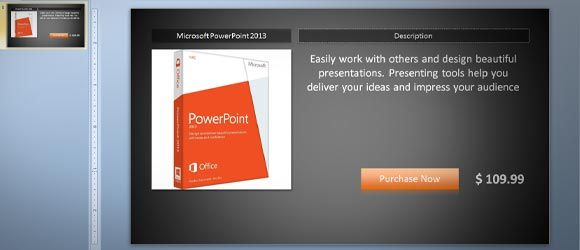 Free Product Catalog Template Using Powerpoint 2 Business